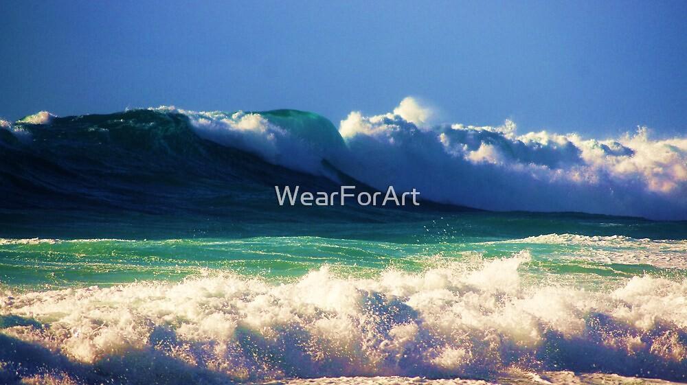 Waves 6 by WearForArt