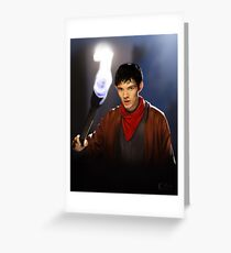 Merlin Greeting Card