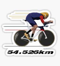 Wiggo Record Breaker Sticker