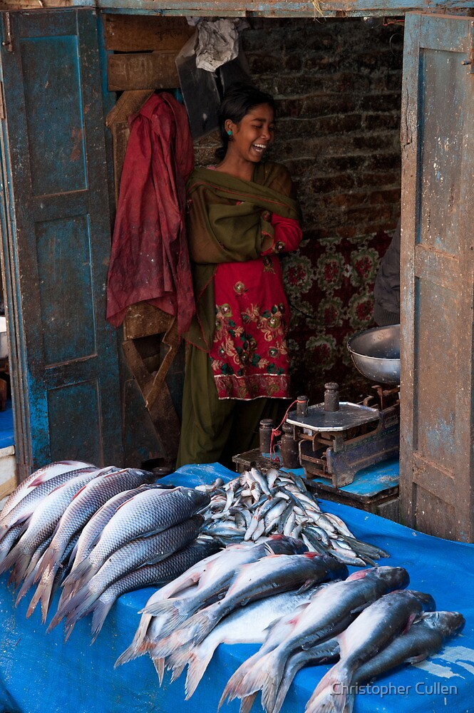 Fishmonger's daughter by Christopher Cullen