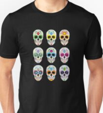 Nine skulls T-Shirt
