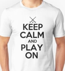 Keep Calm and Play On - Field Hockey T-Shirt
