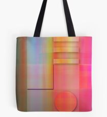 Pastels Geometric Abstract wallart Tote Bag