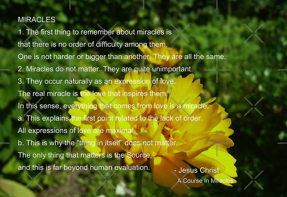 ACIM #1 Miracles by Hekla Hekla