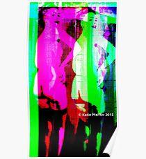 Strip Tease Punk Poster