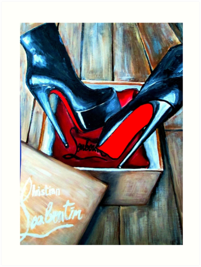 f7459891eb32 Christian Louboutin Red Bottom Boot in a Box