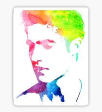 """rainbow """"out"""" Sticker"""