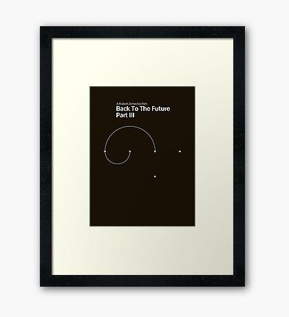 pbbyc - Back to the Future Pt 3 (min) Framed Print