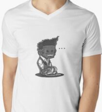 Sit Down, Shut Up Mens V-Neck T-Shirt