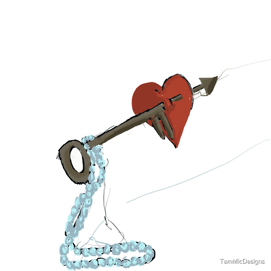 The Key To Your Heart by TamMicDesigns