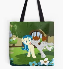 You got something on your cheek Tote Bag