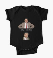 Mr. Bean - The Faces One Piece - Short Sleeve