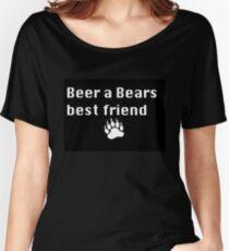 Beer a Bears Best Friend Women's Relaxed Fit T-Shirt