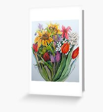 Garden Show Greeting Card