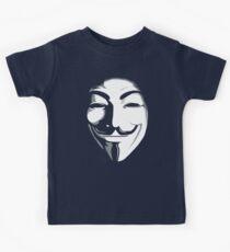 anonymous t-shirt version 2 Kids Tee
