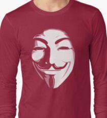anonymous t-shirt version 2 Long Sleeve T-Shirt