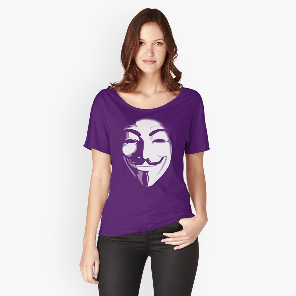 anonymous t-shirt version 2 Women's Relaxed Fit T-Shirt Front