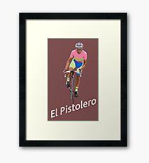 El Pistolero Framed Print