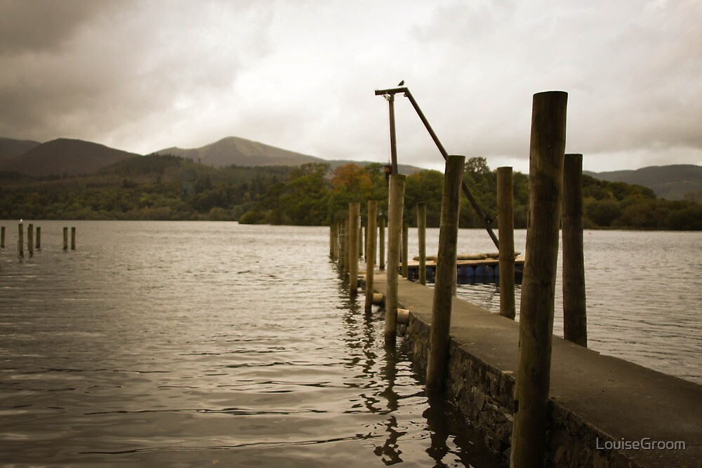 Sitting on the dock of the bay by LouiseGroom