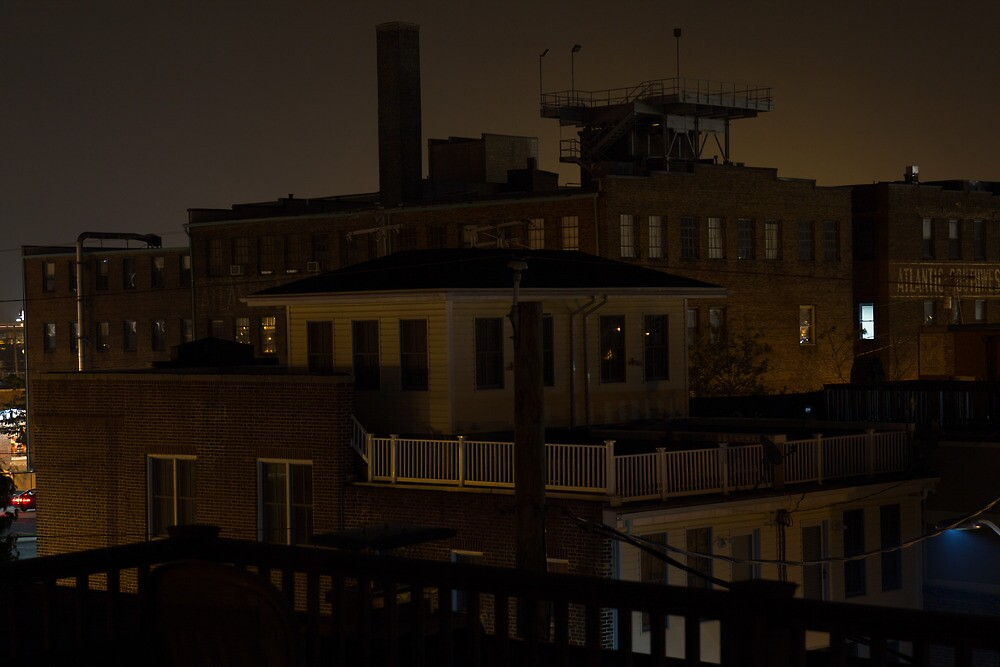 Baltimore at Night by Dominic Perry