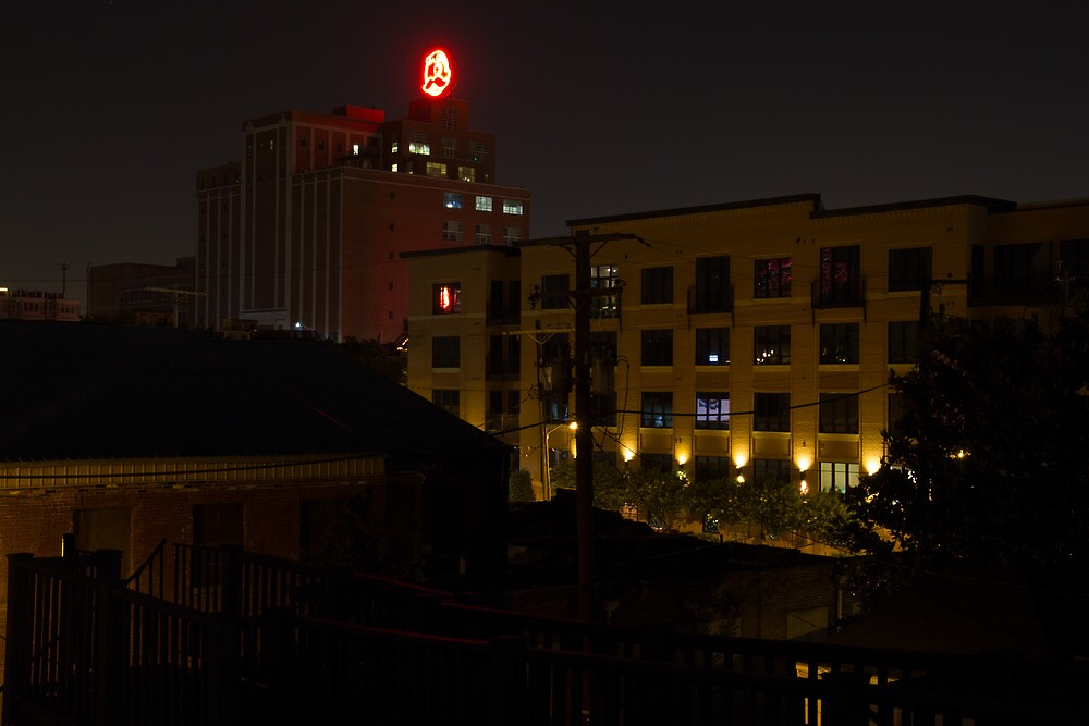 Natty Boh at Night by Dominic Perry