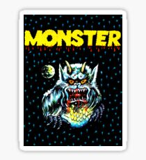 Simple Monster in the Night Sticker