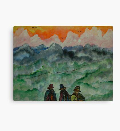 Andean Landscape Canvas Print
