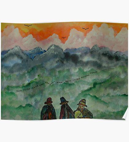 Andean Landscape Poster
