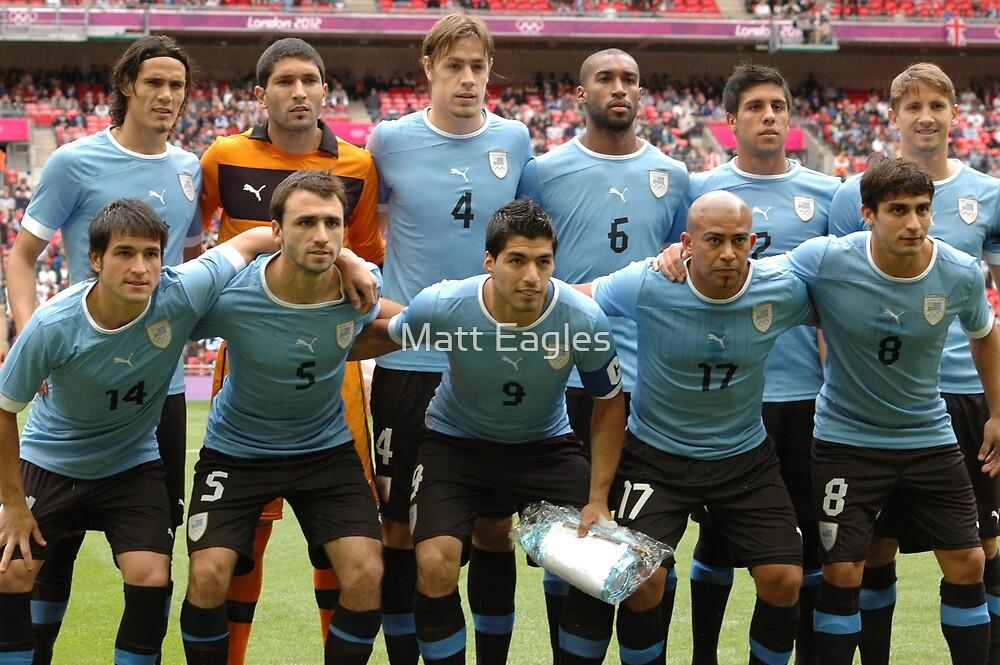 Uruguay - London 2012 Olympics  by Matt Eagles