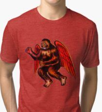 Holy Flying Kong! Tri-blend T-Shirt