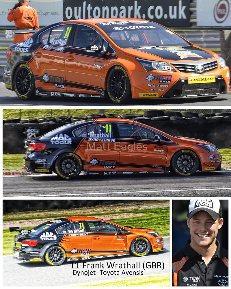 Frank Wrathall - BTCC by Matt Eagles