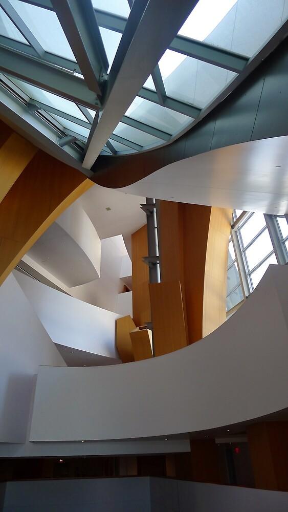 Inside the Disney Concert Hall by Barbara Morrison