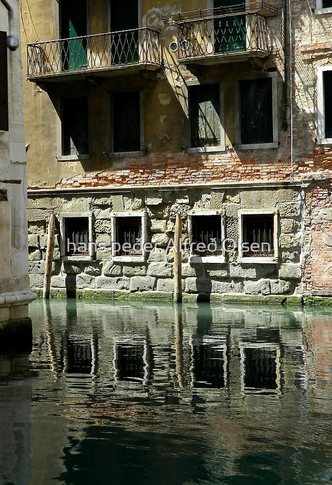 Venice-canal living by hans peðer alfreð olsen