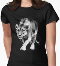 lioness t-shirt Women's Fitted T-Shirt