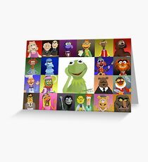 The Muppets Greeting Card