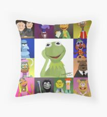 The Muppets Throw Pillow