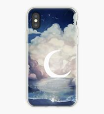 upon the sky-foam. iPhone Case