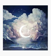 upon the sky-foam. Photographic Print