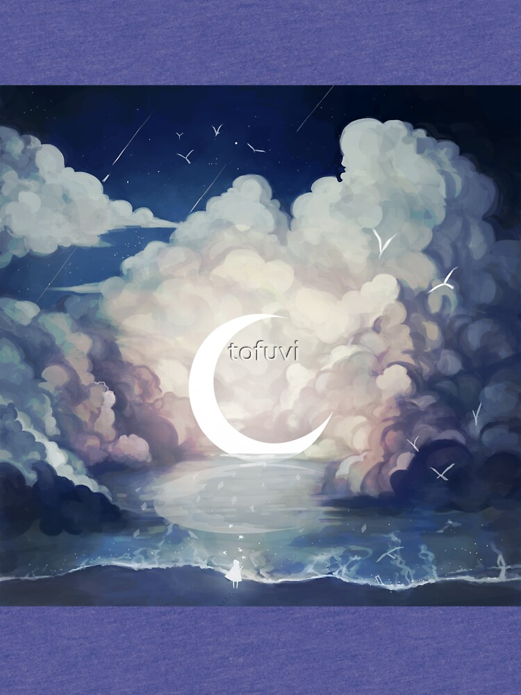 upon the sky-foam. by tofuvi