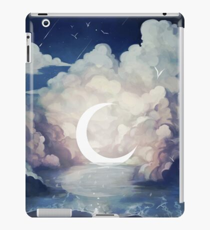 upon the sky-foam. iPad Case/Skin