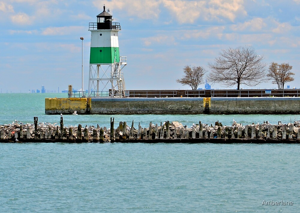 Chicago Lighthouse by Amberlane