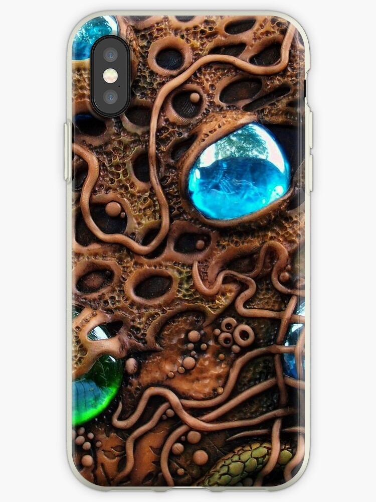 Alien Planet iphone ipod Cover by MandarinMoon