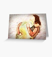 Mama and Baby Greeting Card