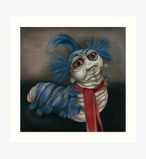 Labyrinth Worm - Oil Painting  Art Print