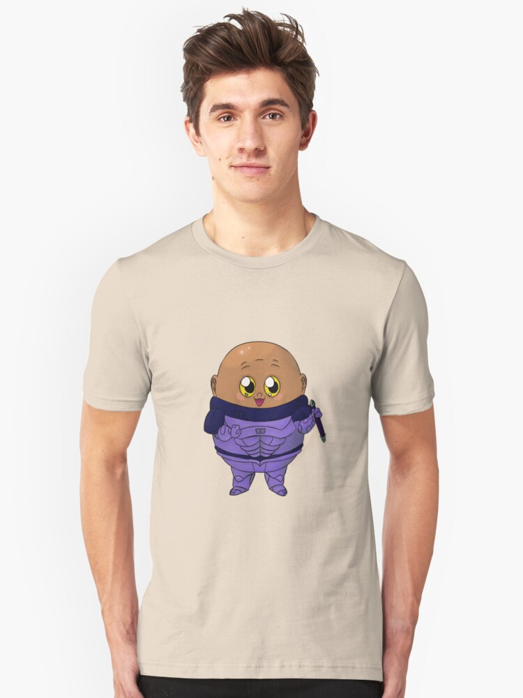 Kawaii Who Villains: Potato Unisex T-Shirt Front