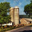 Dairy Farming by Lois  Bryan