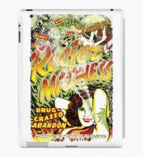 Reefer Madness. Marijuana. Mary Jane. Weed. Propaganda. Legalize. Cannabis iPad Case/Skin