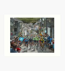 Climb through Haworth Art Print