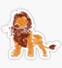 King Mufasa Sticker