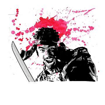 Seven Samurai Toshiro Mifune by tecmoviking